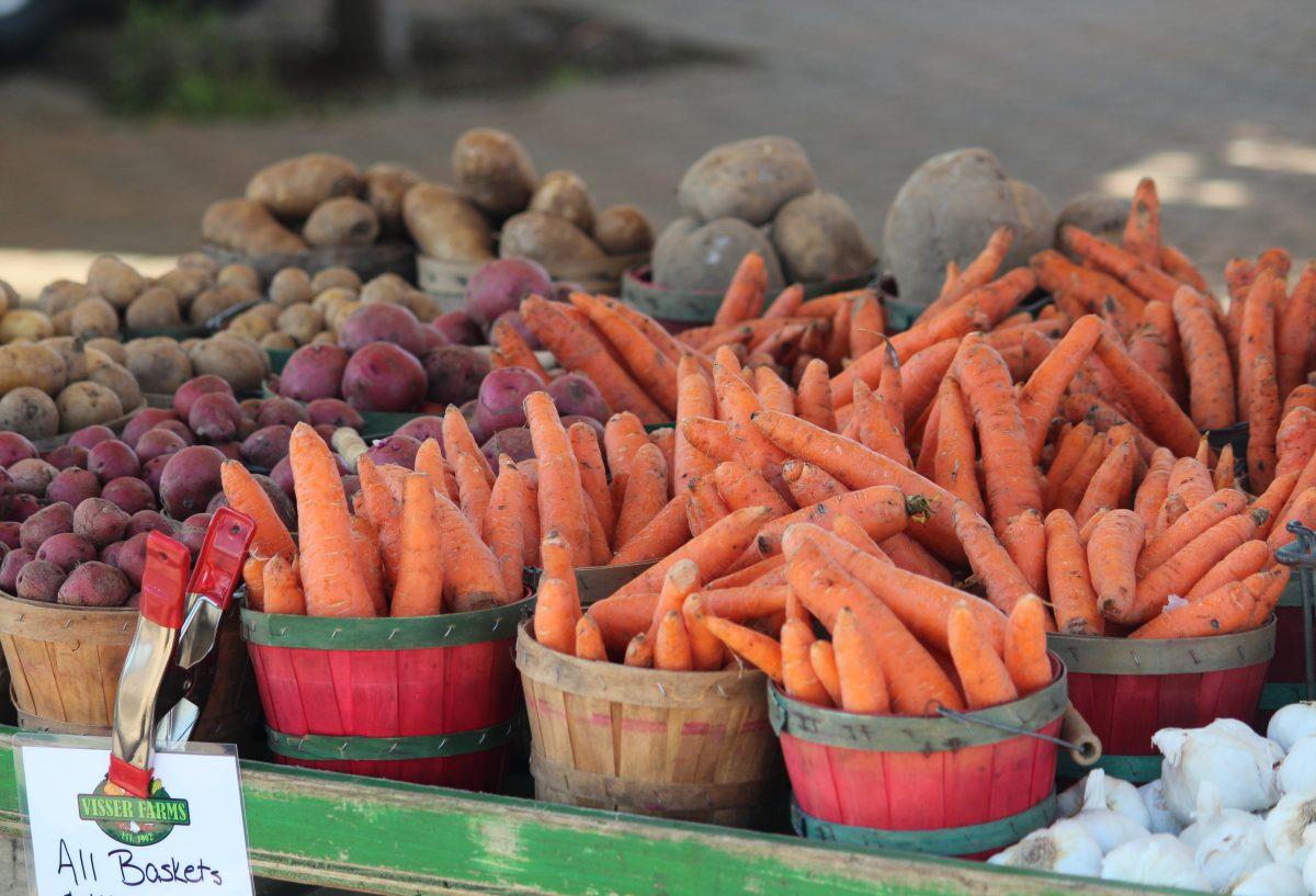 Holland Farmers Market Vegetables