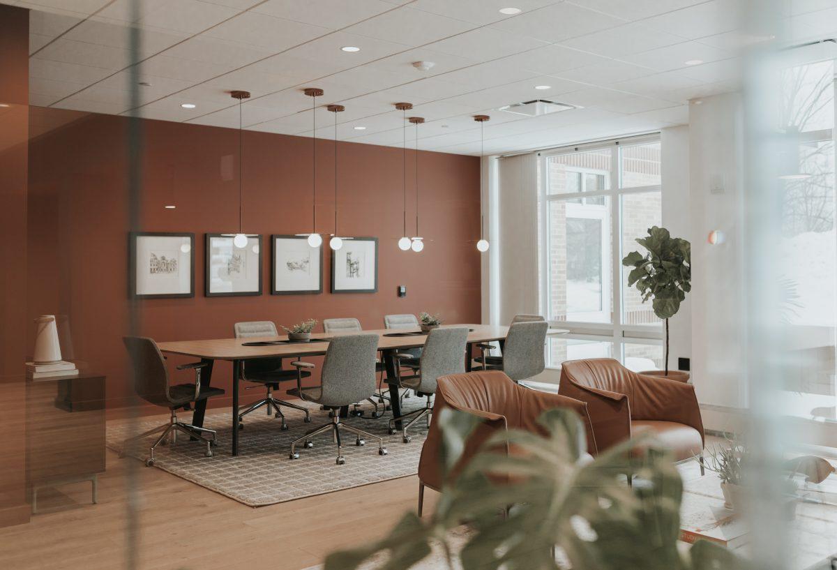 Meeting room far